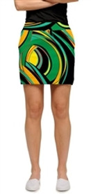 Loudmouth Golf: Womens Skort - Bent Grass - SALE