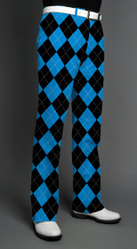 Loudmouth Golf: Men's Pants - Black & Blue*