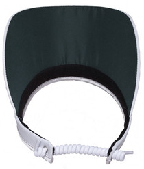 Glove It: Bling Coil Golf  Visor - White Bling