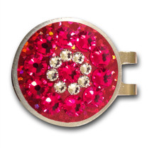 Blingo Ball Markers: Red Glitter