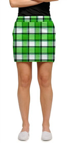 Loudmouth Golf Womens Skort - Boxwood