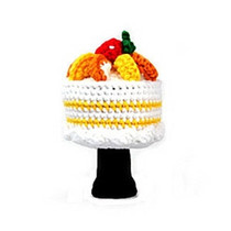 Amimono Animal Golf Driver Headcover - Mango Cake (M302-B)