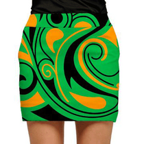 Loudmouth Golf: Women's Skort - Angry Birdies