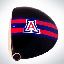 ClubCrown Stripes: Removable Driver Decal - Arizona