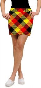 Loudmouth Golf Womens Skort - Cheezburger - SALE