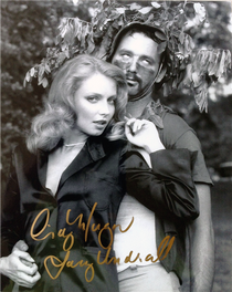 """Cindy Morgan """"Lacey Underall"""" Signed 8x10 Caddyshack Photo - Lacey & Carl"""