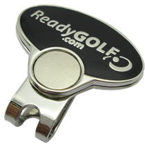 ReadyGolf: Rainbow Effects Honeycomb Crystal Ball Marker - Green