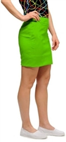 Loudmouth Golf: Womens Skort - Element Jasmine Green