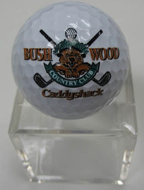 Caddyshack - Bushwood Logoed Golf Ball with Case