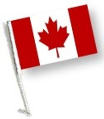 SSP Flags: Car Flag with Pole - Canada