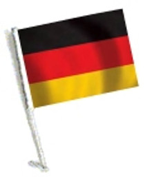 SSP Flags: Car Flag with Pole - Germany