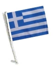 SSP Flags: Car Flag with Pole - Greece