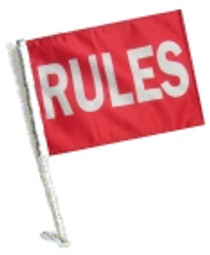 SSP Flags: Car Flag with Pole - Rules
