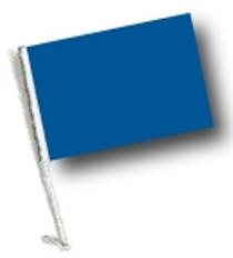 SSP Flag: Car Flag with Pole - Blue
