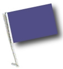 SSP Flags: Car Flag with Pole - Purple