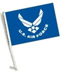 SSP Flags: Car Flag with Pole - Licensed U.S. Air Force
