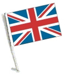 SSP Flags: Car Flag with Pole - Union Jack