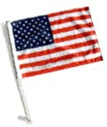SSP Flags: Car Flag with Pole - USA Flag