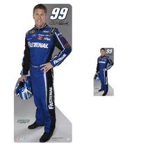 Team Image: Lifesize & Miniature Cardboard Cutout Combo - Carl Edwards 2013 #99 Fastenal