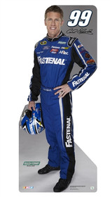 Team Image: Miniature Cardboard Cutout - Carl Edwards 2013 #99 Fastenal