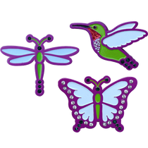 ReadyGolf: Butterfly, Dragonfly & Hummingbird Ball Marker Set