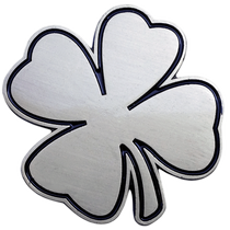 ReadyGolf: Lucky Charm Ball Marker & Hat Clip - Four-Leaf Clover