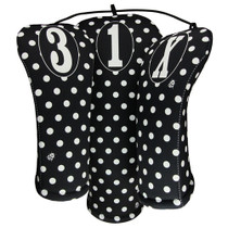 BeeJos: Golf Head Cover - Fun and Frolic Polka Dots