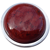ReadyGolf: Gemstone Ball Marker - Flame Jasper
