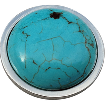 ReadyGolf: Gemstone Ball Marker - Howlite Turquoise