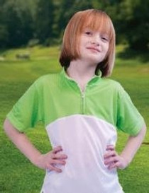 "The Littlest Golfer ""On The Green"" Performance Shirt Girls"