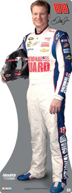 Team Image: Miniature Cardboard Cutout - Dale Earnhardt Jr. 2013 National Guard #88