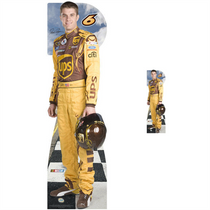 Team Image: Lifesize & Miniature Cardboard Cutout Combo - David Ragan #6