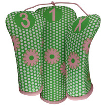 BeeJos: Golf Head Cover - Dazzle Dots
