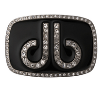 Druh Belts: DB Diamond Black Buckle