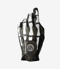 Asher Golf: Mens Golf Glove - Premium DeathGrip Black