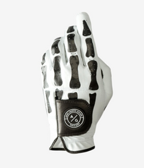 Asher Golf: Mens Golf Glove Death Grip Premium - White