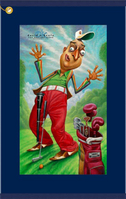 David O'Keefe -  A Tribute to Rodney Dangerfield Golf Towel