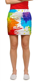 Loudmouth Golf: Women's Skort - Drop Cloth*