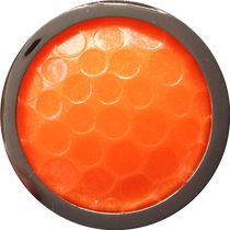 ReadyGolf: Golf Ball Skins Ball Marker & Hat Clip - Orange