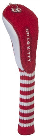 """Hello Kitty """"Mix & Match"""" Fairway Head Cover - Red/White - SALE"""