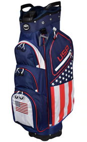 Hot-Z Golf: 2020 Flag Cart Bag - USA - *Estimated Ship Date End of November*