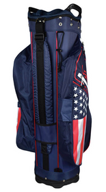 USA Flag Cart Bag by Hotz Golf