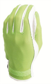 Evertan: Women's Tan Through Golf Glove - Lime Green
