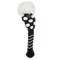 Just 4 Golf: Fairway Headcovers - Medium Dot - Black & White
