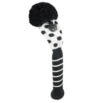 Just 4 Golf: Hybrid Headcover - Small Dot - Black & White
