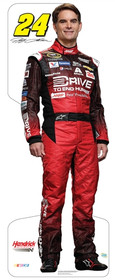 Team Image: Miniature Cardboard Cutout - Jeff Gordon #24