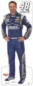 Team Image: Miniature Cardboard Cutout - Jimmie Johnson #48