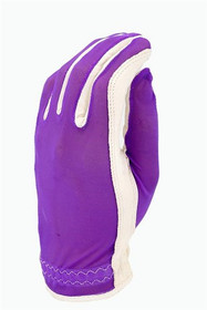 Evertan: Women's Tan Through Golf Glove - Grape