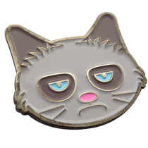 ReadyGolf: Grumpy Cat Ball Marker & Hat Clip
