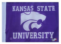 SSP Flags: University 11x15 inch Flag Variety - Kansas State University